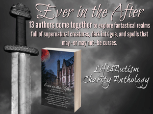 In EVER IN THE AFTER, 13 authors come together to explore fantastical realms and mystical realities full of supernatural creatures, dark intrigue, and spells that may--or may not--be curses.