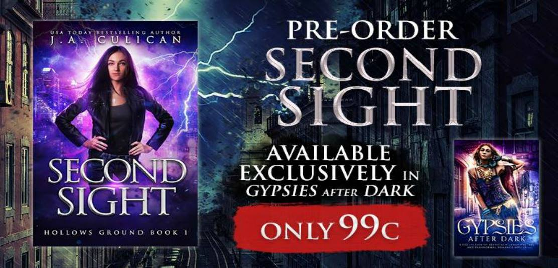 Second Sight - available now on pre-order