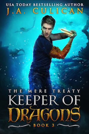 Keeper of Dragons book 3 - The Mere Treaty