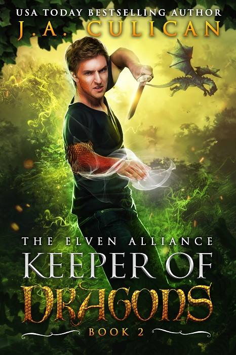 Keeper of Dragons book 2 - The Elven Alliance