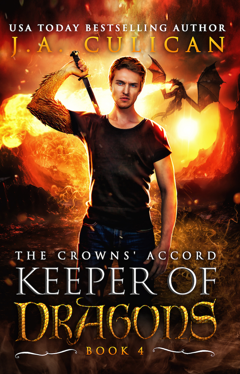 Keeper of Dragons book 4 - The Crowns' Accord