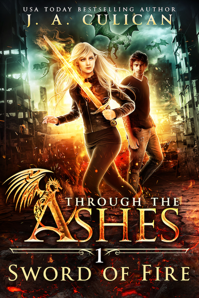 Through the Ashes book 1 - Sword of Fire