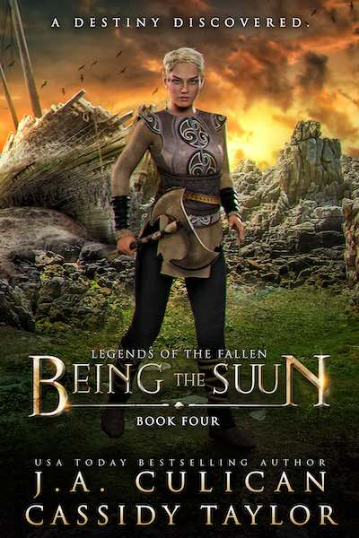 Legend of the Fallen book 4 - Being the Suun
