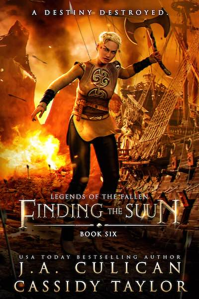 Legend of the Fallen book 6 - Finding the Suun