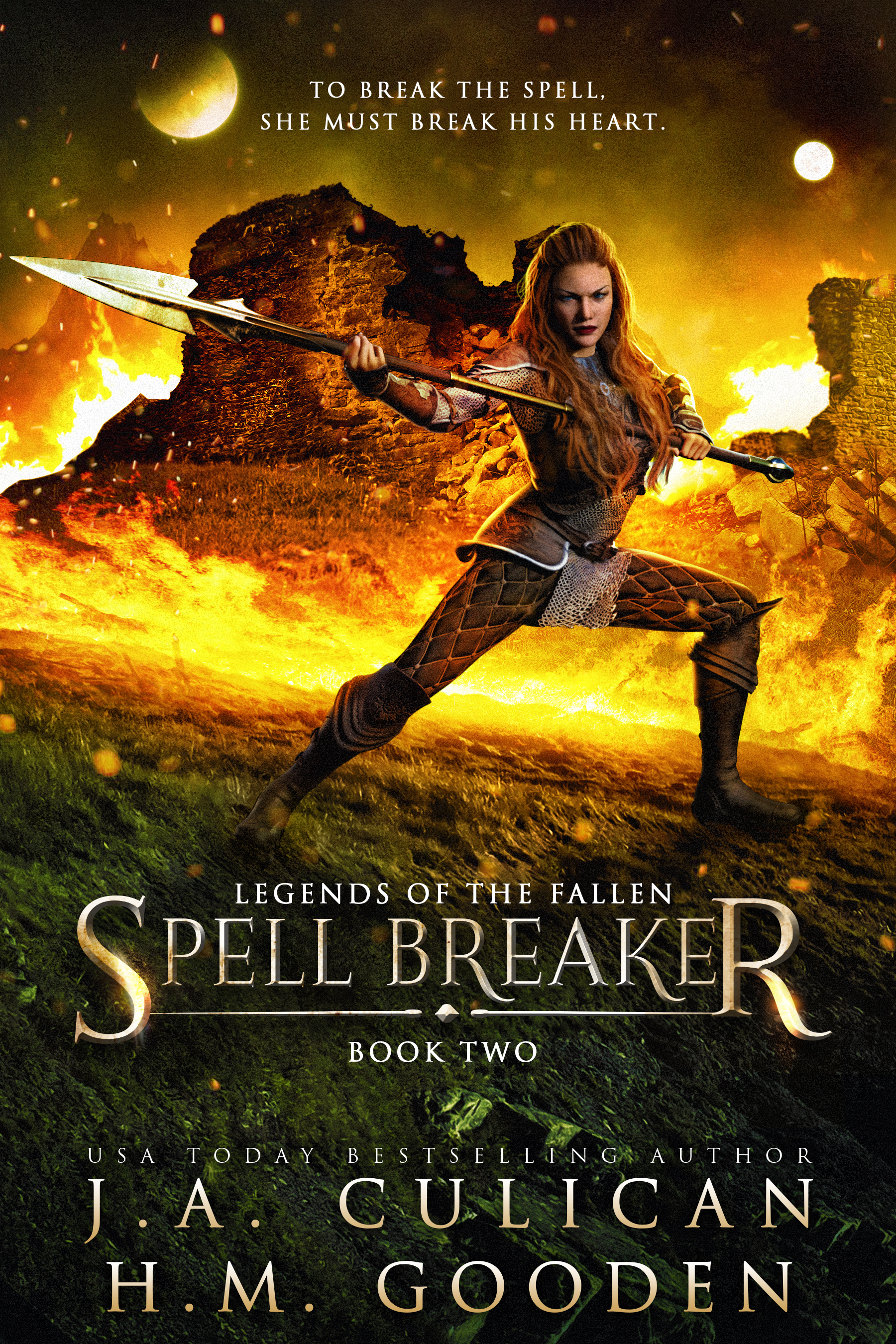 Legend of the Fallen book 2 - Spell Breaker