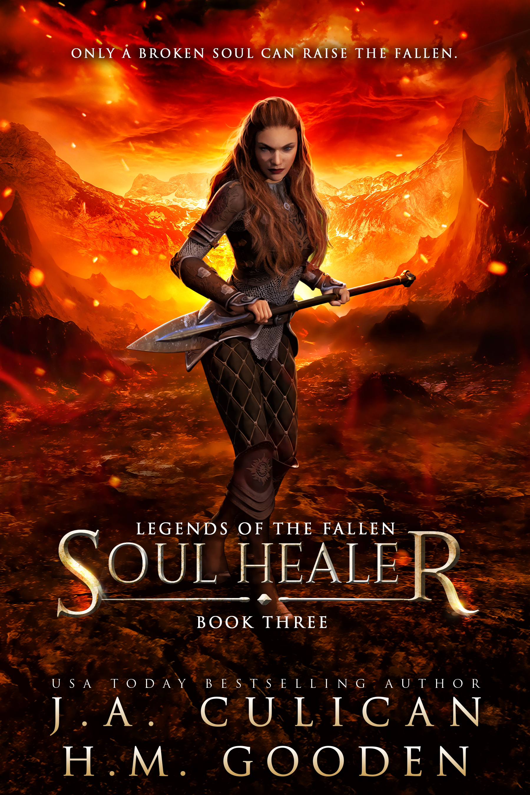 Legend of the Fallen book 3 - Soul Healer