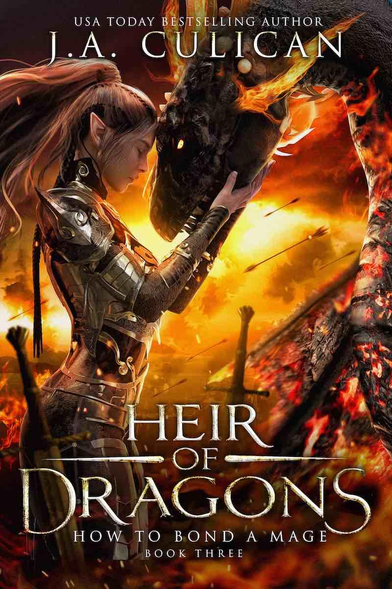 Hair of Dragons book 3 - Bond a Mage