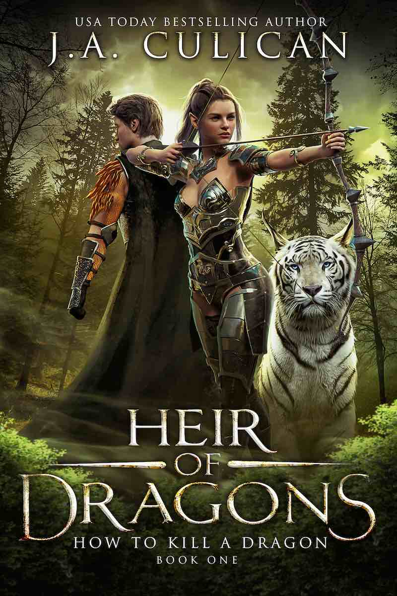 Hair of Dragons book 1 - How to Kill a Dragon