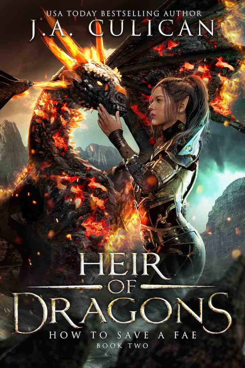 Hair of Dragons book 2 - How to Save a Fae